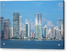 Colombia, Cartagena Acrylic Print by Cindy Miller Hopkins
