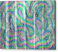 #6 Sidewalk Acrylic Print