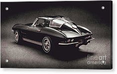 63 Chevrolet Corvette Stingray Acrylic Print