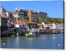 England, North Yorkshire, Whitby Acrylic Print by Emily Wilson