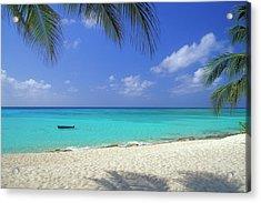 7 Mile Beach, Cayman Islands Acrylic Print by Myloupe/uig