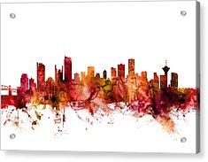 Vancouver Canada Skyline Acrylic Print
