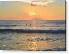 Acrylic Print featuring the photograph 9/3/18 Kitty Hawk Sunrise by Barbara Ann Bell