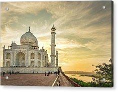India, Uttar Pradesh Acrylic Print by Alison Jones