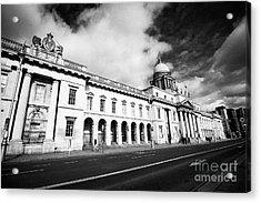 The Custom House Custom House Quay Dublin Republic Of Ireland Acrylic Print by Joe Fox