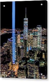911 Lights Acrylic Print