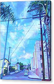 A Blue Day Acrylic Print