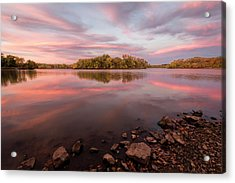 Acrylic Print featuring the photograph A Display Of Color by Scott Bean