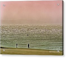 Acrylic Print featuring the photograph A Distant Shore by Leigh Kemp