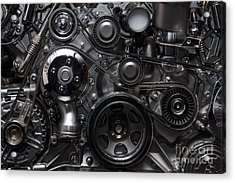 A Fragment Of The Engine Acrylic Print