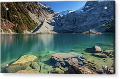 Acrylic Print featuring the photograph A Gem In The Mountains by Pierre Leclerc Photography