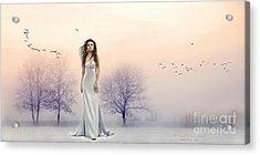 A Hazy Shade Of Winter Acrylic Print