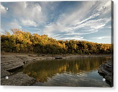 Acrylic Print featuring the photograph A Hint Of Fall by Scott Bean