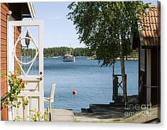A House In Stockholm Archipelago, Sweden Acrylic Print