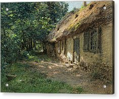 A Hut In Normandy Acrylic Print