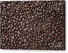 A Lot Of Roasted Coffee Beans Which Acrylic Print