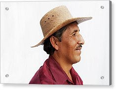 A Mexican Man Acrylic Print