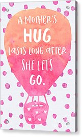 A Mother's Hug Acrylic Print