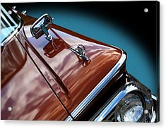 Acrylic Print featuring the photograph A New Slant On An Old Vehicle - 1959 Edsel Corsair by Debi Dalio