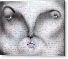 A Normal Homicide Acrylic Print