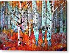 A Party In The Forest Acrylic Print