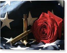 A Patriots Passing Acrylic Print