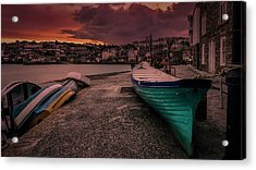 A Quiet Moment - Cornwall Acrylic Print