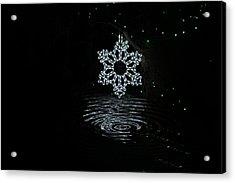 A Ripple Of Christmas Cheer Acrylic Print
