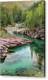 A River Runs Through It Acrylic Print