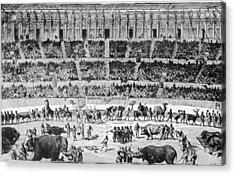 A Roman Circus Acrylic Print by Hulton Archive