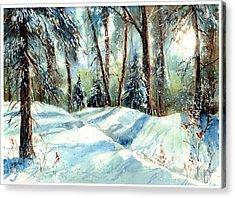 A True Winter Wonderland Acrylic Print