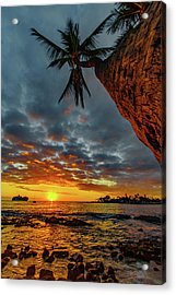 A Typical Wednesday Sunset Acrylic Print