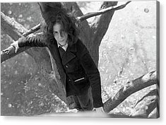 A Woman In A Tree, 1972 Acrylic Print