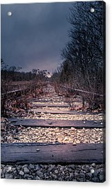 Acrylic Print featuring the photograph Abandoned by Allin Sorenson