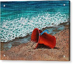 Acrylic Print featuring the painting Abandoned by Darice Machel McGuire