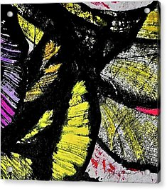 Acrylic Print featuring the painting Metamorphosis by Joan Reese