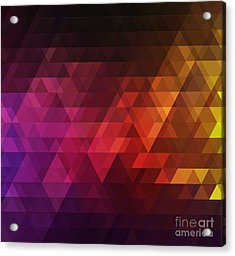 Abstract Background For Design Acrylic Print