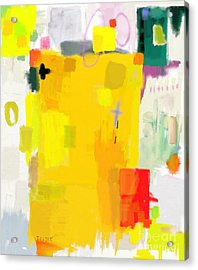 Abstract Composition Which Consists Of Acrylic Print