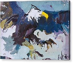 Abstract Eagle Painting Acrylic Print