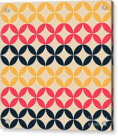 Abstract Geometric Artistic Pattern Acrylic Print