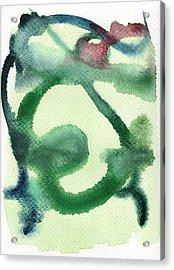 Abstract Man Acrylic Print