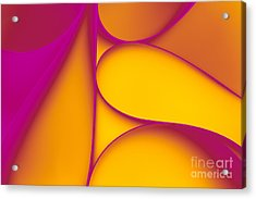 Abstract Paper Background Acrylic Print