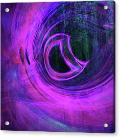 Abstract Rendered Artwork 4 Acrylic Print