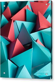 Abstract Wallpaper Consisting Of Acrylic Print by Comaniciu Dan