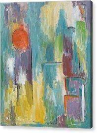 Abstraction II Acrylic Print