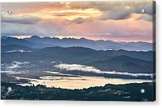 Acrylic Print featuring the photograph Across The Bay by Whitney Goodey