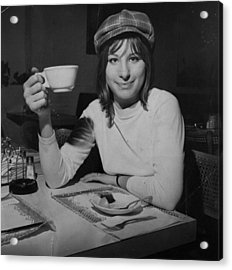 Actress And Singer Barbra Streisand Acrylic Print