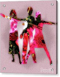 Ad Fashion Acrylic Print