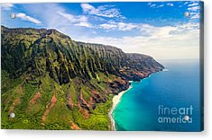 Aerial Landscape View Of Spectacular Na Acrylic Print