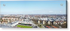 Aerial View Of Stadium Acrylic Print by Johner Images